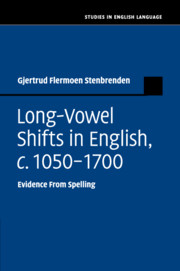 Long-Vowel Shifts in English, c. 1050–1700