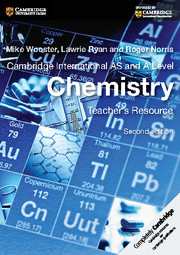 Chemistry resources cambridge university press cambridge international as and a level chemistry urtaz Image collections