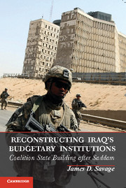 Reconstructing Iraq's Budgetary Institutions