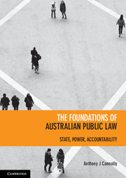 The Foundations of Australian Public Law