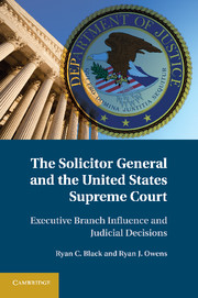 The Solicitor General and the United States Supreme Court