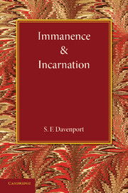 Immanence and Incarnation