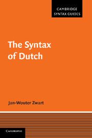The Syntax of Dutch