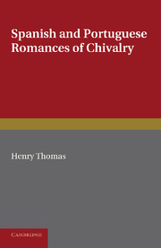 Spanish and Portuguese Romances of Chivalry