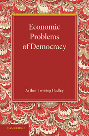 Economic Problems of Democracy