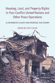 Housing, Land, and Property Rights in Post-Conflict United Nations and Other Peace Operations
