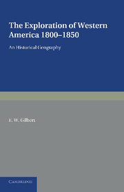 The Exploration of Western America, 1800–1850