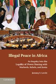 Illegal Peace in Africa