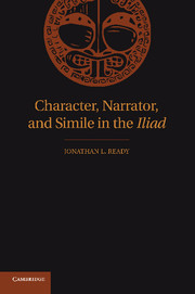 Character, Narrator, and Simile in the Iliad