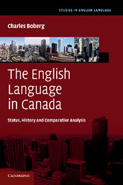 The English Language in Canada