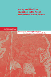 Mutiny and Maritime Radicalism in the Age of Revolution