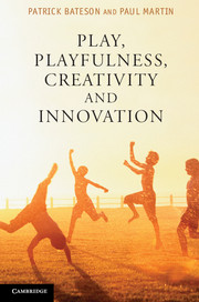 Play, Playfulness, Creativity and Innovation by Patrick Bateson and Paul Martin - Cambridge University Press.