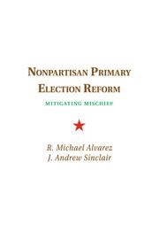 Nonpartisan Primary Election Reform