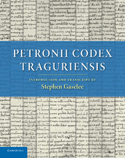 Petronii Codex Traguriensis