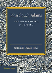 John Couch Adams and the Discovery of Neptune