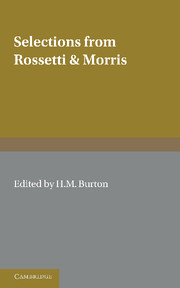 Selections from Rossetti and Morris