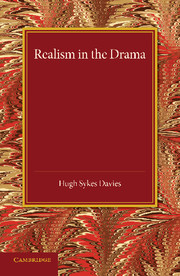 Realism in the Drama