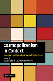 Cosmopolitanism in Context