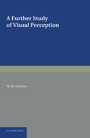 A Further Study of Visual Perception