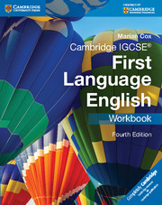 Cambridge IGCSE® First Language English Workbook