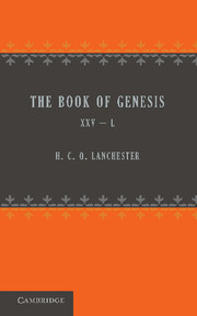 The Book of Genesis 25–50