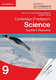 Cambridge Checkpoint Science Teacher's Resource 9