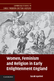 Women, Feminism and Religion in Early Enlightenment England