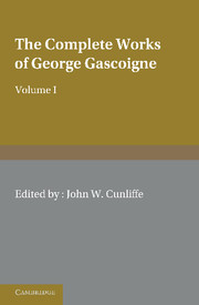 The Complete Works of George Gascoigne