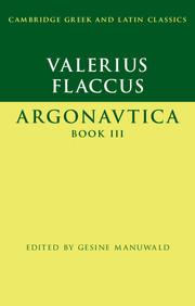 Valerius Flaccus: Argonautica Book III
