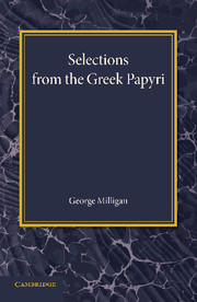 Selections from the Greek Papyri