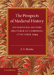 The Prospects of Medieval History