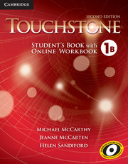 Touchstone Level 1 Student's Book B with Online Workbook B