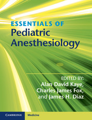 Essentials of Pediatric Anesthesiology