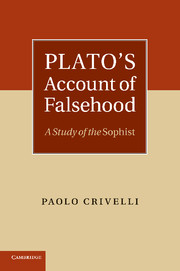 Plato's Account of Falsehood