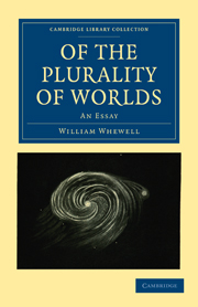 Of the Plurality of Worlds
