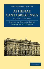 Athenae Cantabrigienses