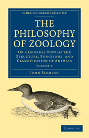 The Philosophy of Zoology
