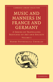 Music and Manners in France and Germany