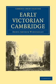Early Victorian Cambridge