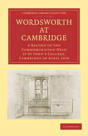 Wordsworth at Cambridge