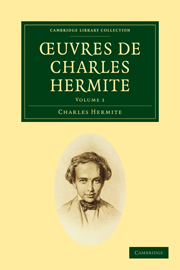 Oeuvres de Charles Hermite