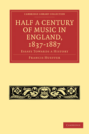 Half a Century of Music in England, 1837–1887