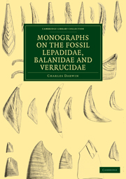 Monographs on the Fossil Lepadidae, Balanidae and Verrucidae