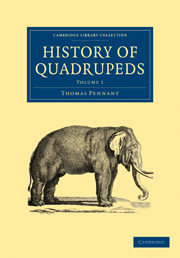 History of Quadrupeds