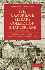 The Cambridge Library Collection Shakespeare Set