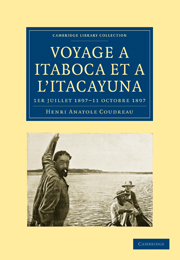 Voyage à Itaboca et à l'Itacayuna