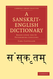 A Sanskrit-English Dictionary