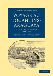 Voyage au Tocantins-Araguaya