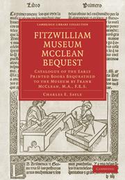 Fitzwilliam Museum McClean Bequest