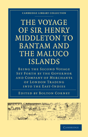 The Voyage of Sir Henry Middleton to Bantam and the Maluco Islands